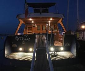 BRILLA & BILLY, la barca di Lucio