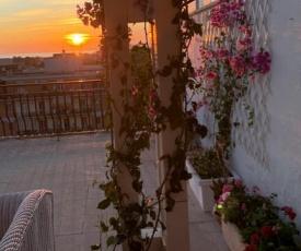 Attico vista panoramica Ladispoli