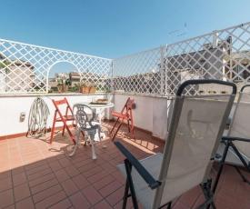 A delightful little terrace by Via Giulia - FromHometoRome