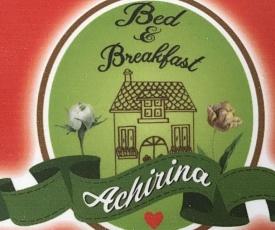Achirina bed and breakfast
